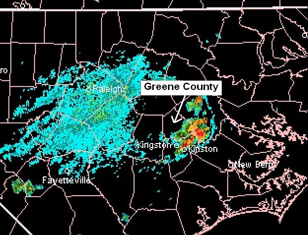 July 28, 2006 - Shear and Convective Outflow Interaction