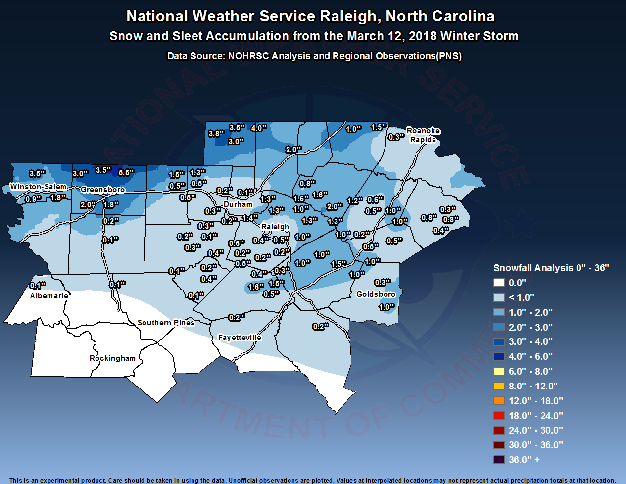 Past Events - NWS Raleigh, NC