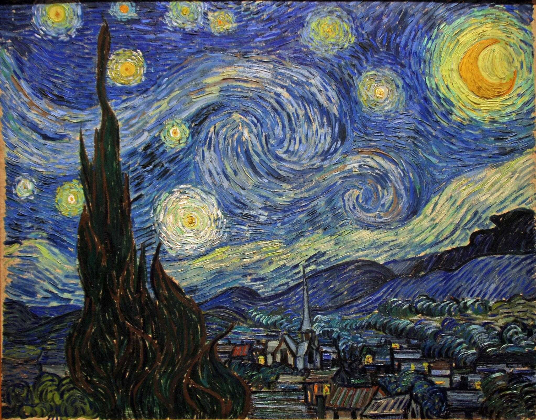 starry night van gogh essay Vincent van gogh's artwork 'starry night' is a classic example of the post impressionism movement post-impressionist were artist who rebelled against the.